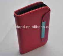 Wallet With rope Lichee PU Leather Flip Case Cover for Nokia Lumia 620