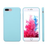 Nice Color Silicone Soft TPU Back Phone Case for Apple iPhone 6 6S 7 Plus