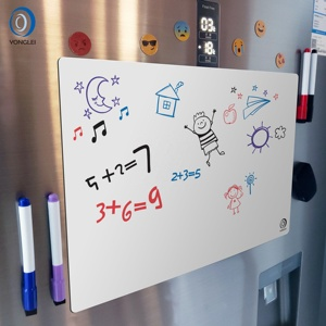 7.9-17A2 Dry erase fridge drawing toys magnetic writing board drawing board for kids