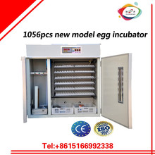 1000pcs 1056 pcs chicken egg incubator of low price