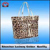 Leopard Fashion Handbag for woman,2014 the Newest bags woman,ladies' handbag at low price
