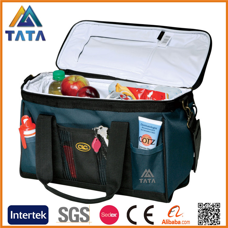 TATA High quality neoprene two wine bottle cooler bag with wine holder bag