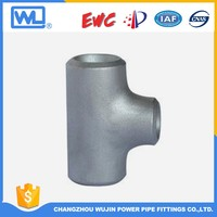 Carbon Steel Seamless Tee Connector Pipe
