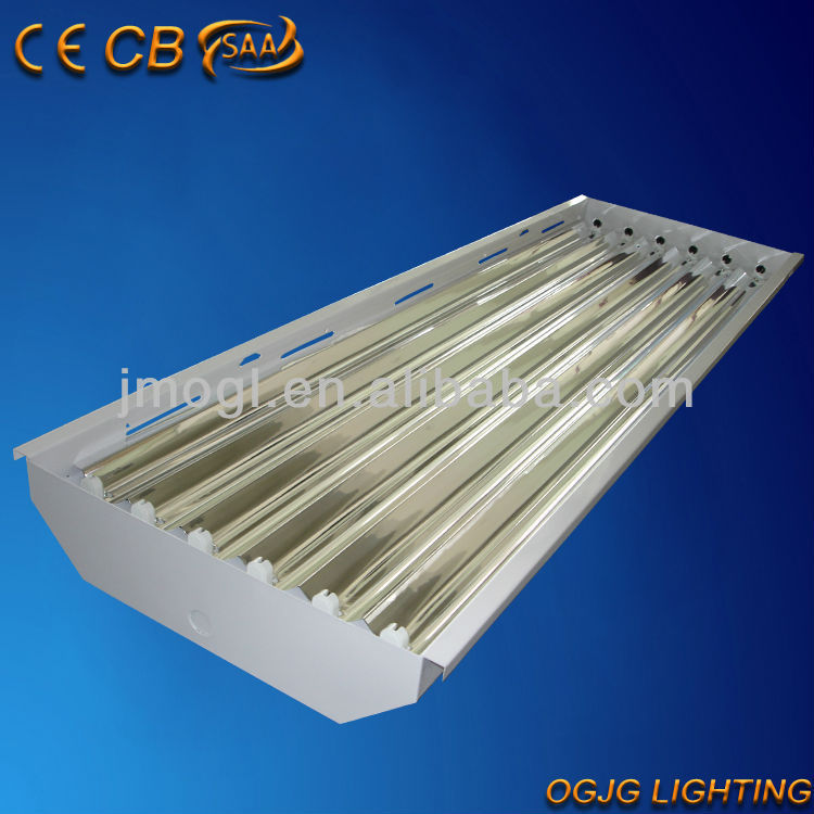 Timbre Luces Low Bay Lighting: 4x54 W Fluorescente Fluorescente T5 High Bay Led Light
