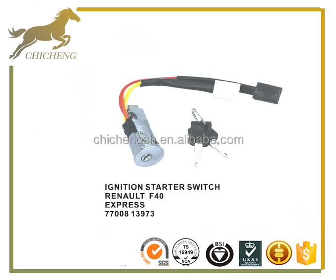 Alibaba China auto ignition starter switch for Renault F40 EXPRESS 7700813973
