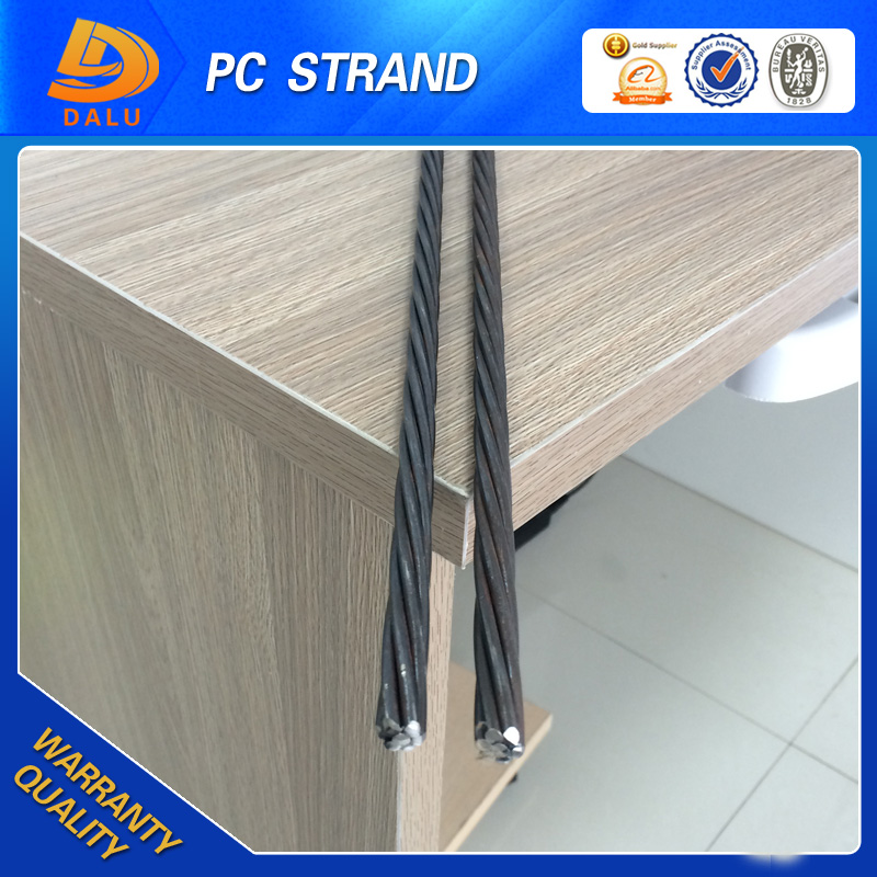 pc strand steel wire rod A416 12.7mm