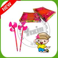 Whistle fan toy candy