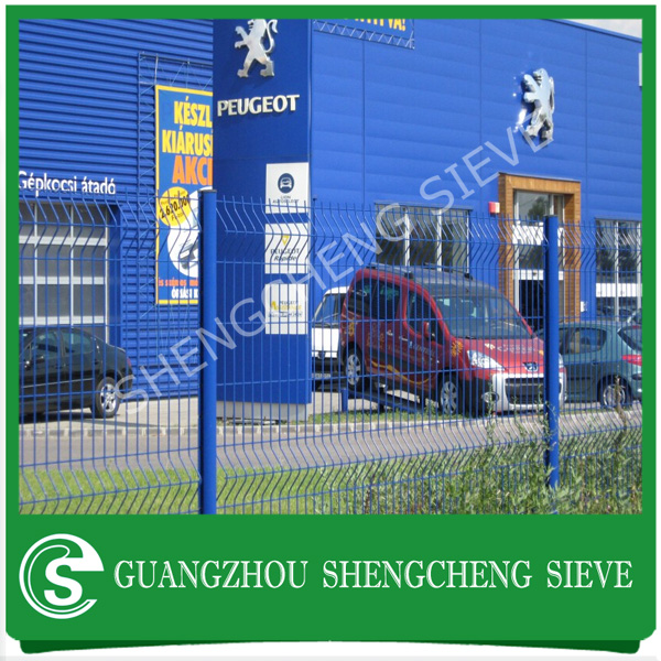 Factory customized fence nylofor 3d fencing car parking lot
