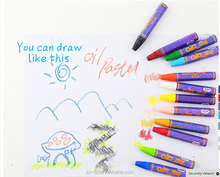 Colorful cheap oil pastel for kids crayon