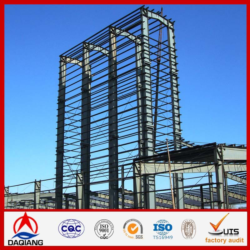 Steel structures super arch span prefab steel buildings