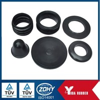 Customized Processing Industry Anti-vibration Profiled Rubber Washer, Rubber Gasket