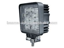 Car accessories 2012 27W square hot car LED work light HML-0727