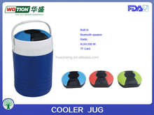 1.5 gallon insulated speaker cooler , pinic reusable cooler , FDA approved and Eco friendly