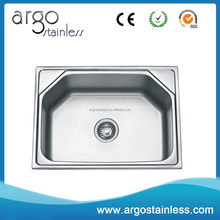 Stainless steel cheaper single bowl royal kitchen sink