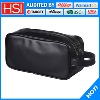 fashion pu leather cosmetic bag