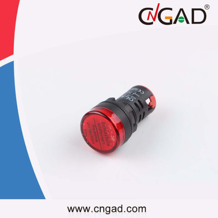 GD16-22DS CNGAD 22mm 220V Red led Indicator light