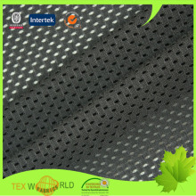 designer black dying polyester netting sport fabric for chairs covers