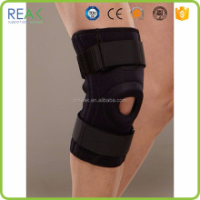 Trendy ventilate sport safety multi color nylon.neoprene with stays compression gel knee support