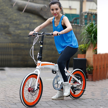 New Style Mini Pocket Bikes 20 Inch Folding Chopper Bicycles Pedal Assitant Bike For Lady