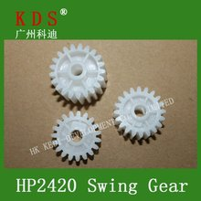 new printer parts Swing Gear/fuser gear assembly for HP 2420 /2430/2400/2440/2410 fuser gear,high quality