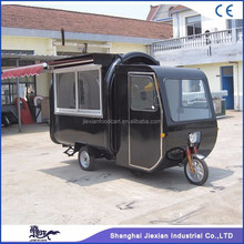 JX-FR220GH Fast food electric tricycle food truck mobile concession kitchen truck for sale