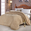 New design top selling detachable double layers berber fleece quilt warm winter quilt