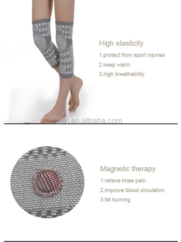 Magnetic far infrared healthy therapy xxxl knee brace
