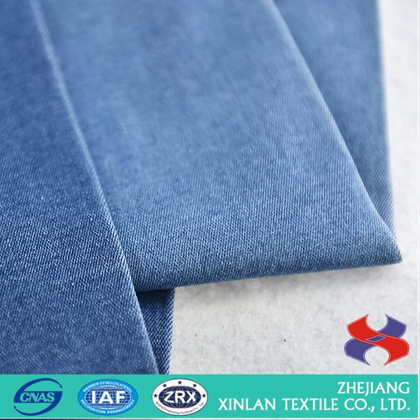 Hot promotion custom design twill cotton fabric for pants wholesale