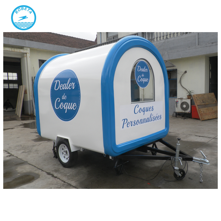 CE certification food vans cart used food trailers for sale local food trucks for sale