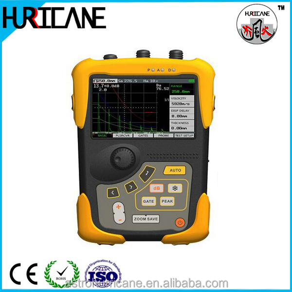 Digital Ultrasonic Flaw Detector Meter Tester for NDT Inspection