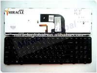 Argentina/AR layout laptop keyboard for hp DV6-7000 7002 7045TX with frame