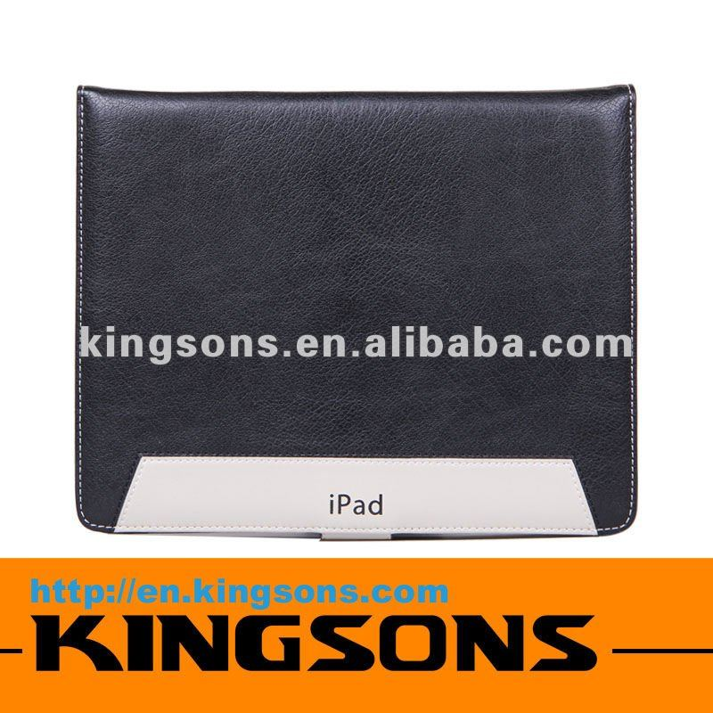 hot sell! high quality sleeve leather case for ipad3