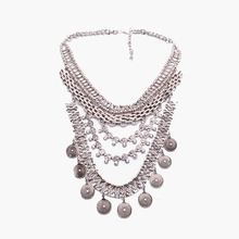 New Fine Fashion Trend Bohemia Ethnic Beads Statement Luury Women Multilayer necklaces Women&Girl Jewelry5486