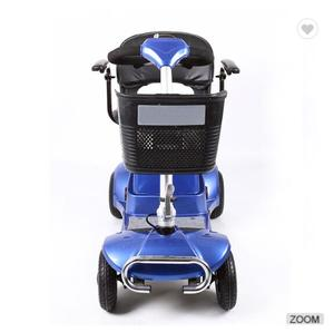Four wheel portable foldable disabled and elder electric mobility scooter wholesale