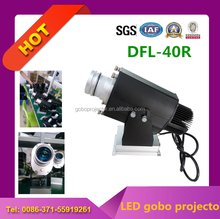 customized gobo outdoor projector with image rotating 360 degree waterproof