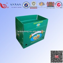 High quality flexo print corrugated boxes,corrugated printed boxes