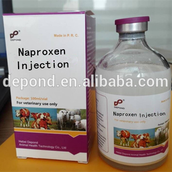 Antipyretic Injection Naproxen Injection for cattle use