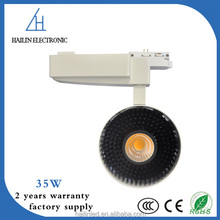 CE certificate 30W 35W 40W LED Track light COB spot light 2 /3/ 4 line