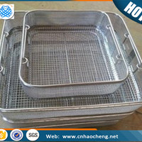 Metal 304 Sterilization Wire Mesh Storage