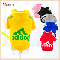 Hot Sale Fashionable Dog Clothes Winter XXX Small Adidog Pet Dog Clothes