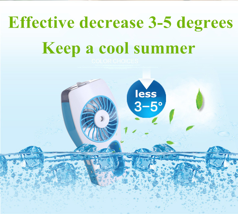 2016 new portable air conditioner micro mini usb fan for phone