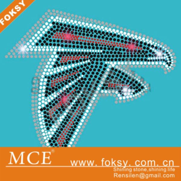 UFL football Atlanta falcons rhinestone transfer