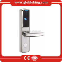 QL6100 Biometric door lock with keypad and RFID Card