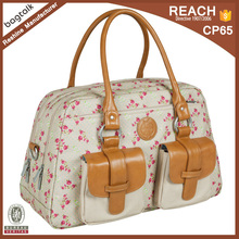 Classical Large Capacity Retro Tote Diaper Bag Nappy Mummy Bag DB16008
