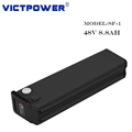 48v 8.8ah 13s4p rechargeable battery pack for electric bicycle