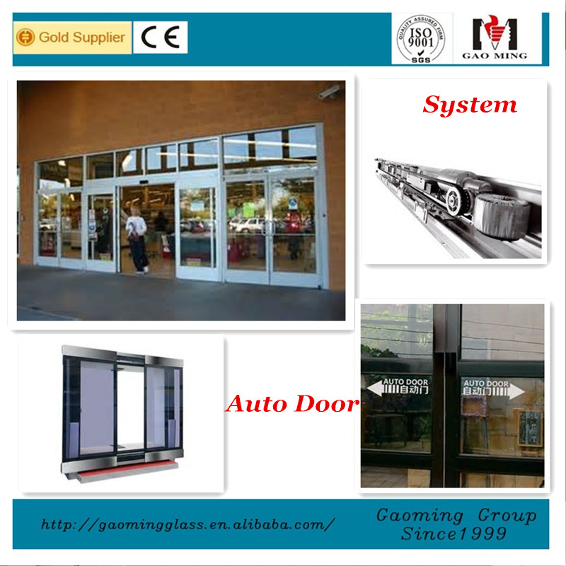 Cleanning Convenient automatic sliding door system