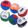 Custom 9 panel Hacky Sack with LOGO printing size 6CM
