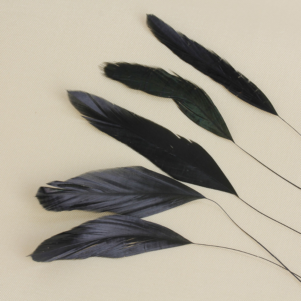 New Arrival Multicolor 19cm Natural Dyed Chicken Feather For Sale DIY & Craft
