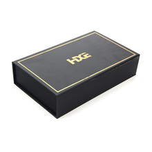 Premium magnetic cardboard box hot stamping recycled paper gift box hard luxury gift box cardboard