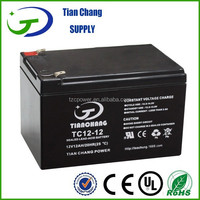 12V 12Ah Lead Acid SLA VRLA Gel Solar PV UPS Battery